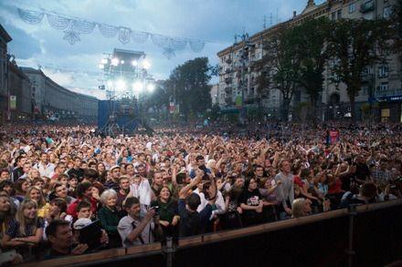 В День Крещения Руси на Крещатик пришли более ста тысяч человек