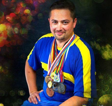 Роман Бондарук настрелял на золото / Фото: dynamo-lviv.com