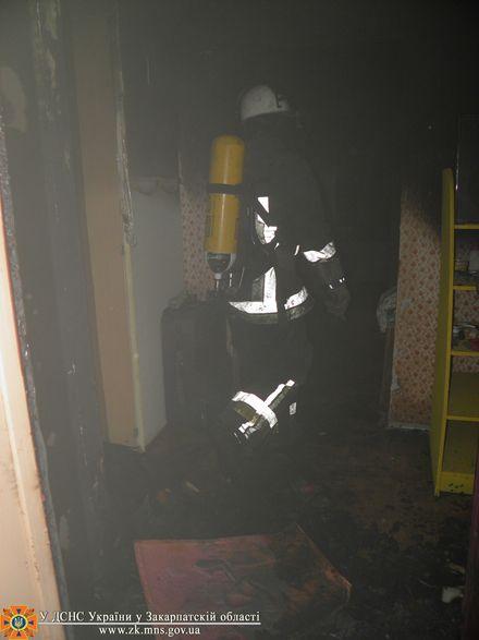 Пожар заметил ребенок