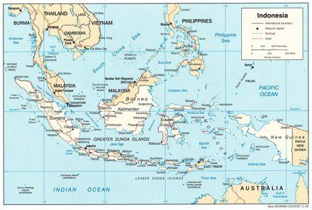 Возле Индонезии