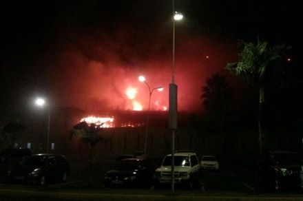 Airport in Kenyan capital is on fire / Photo: @KenyaRedCross