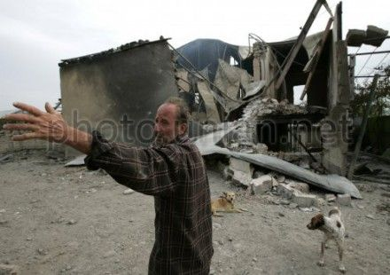 Осетия и Абхазия столкнулись с необходимостью восстанавливать разрушенную инфраструктуру