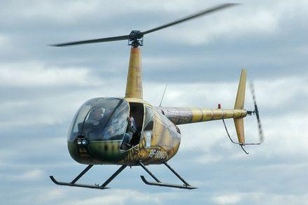 Вертолет Robinson R-44 упал в Иркутской области