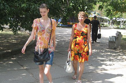 Саша Попова и мама - Алла Гудзь