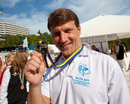 Украинский пловец Олег Лисогор