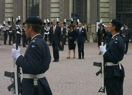 Король Швеции Густав и королева Сильвия / Фото: james из Википедии