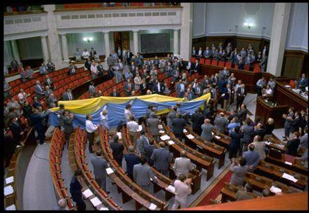 Украина готовится к празднику Флага и Независимости