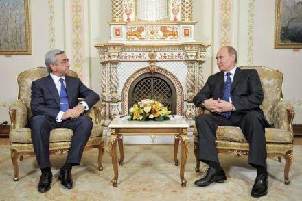 Россия уже делает скидки Армении / Фото пресс-службы Президента РФ