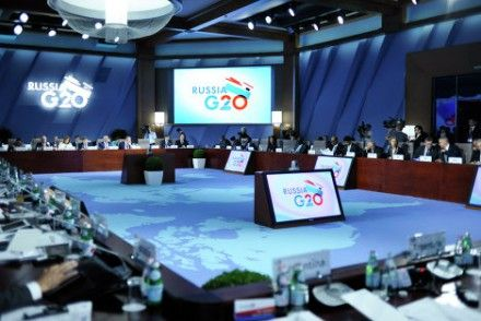 Генсек ООН Пан Ги Мун намерен также поднять вопрос сирийских беженцев / Фото: g20.org