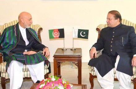 Хамид Карзай (слева) Наваз Шариф / Фото : Правительство Пакистана