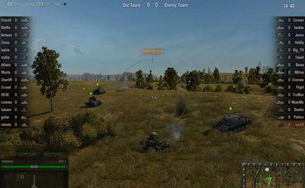 Кадр из игры World of tanks / Фото : mmohuts.com