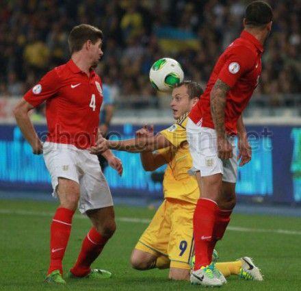 Украина-Англия. Игровой момент
