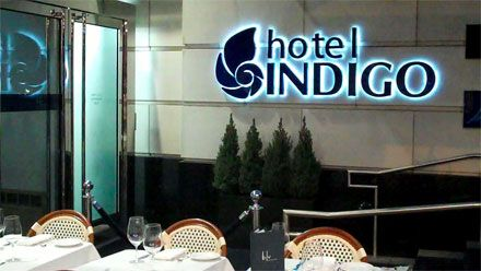 The first ten floors of the hotel will be occupied with Hotel Indigo