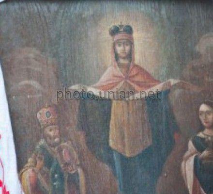 Ікона покрови пресвятої богородиці