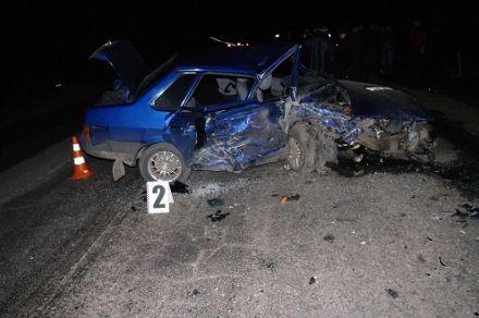 Автомобили после аварии / Фото: ГАИ