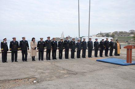 Открытие базы в Севастополе / Фото: Минобороны