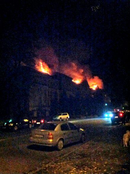 В Киеве горит университет биоресурсов и природопользования Украины