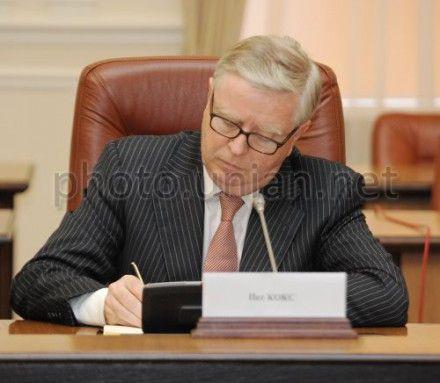 Стала известна дата визита Кокса и Квасневского к Тимошенко