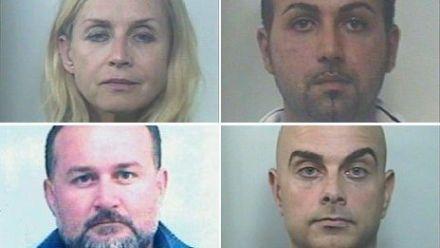 Подозреваемые в похищении детей в Италии, украинка Лариса Москаленко / Фото : Итальянская полиция