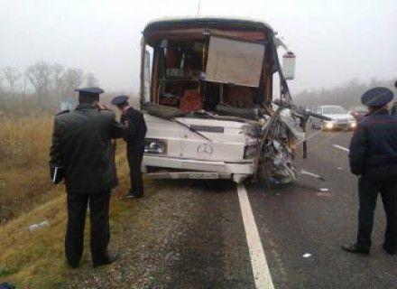 Автобус после аварии / Фото: 26.mchs.gov.ru