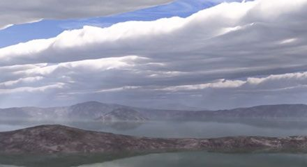 4 мільярди років тому планета була молода і мала густу атмосферу Кадр з відео youtube