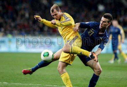 Украина - Франция - 2:0, Зозуля зарабатывает пенальти для Украины