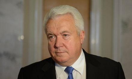Олийнык говорит, что ни один регионал не поддержал отставку правительства на заседании фракции / Фото пресс-службы ПР