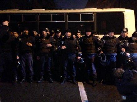 Спецназовцы выехали из Василькова в Киев / Фото: facebook