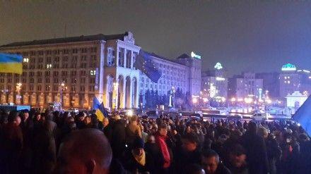 евромайдан / Фото : vk.com/ukraine_es