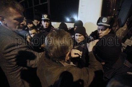 Евромайдан: Митингующие и милиция