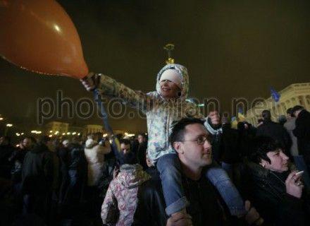 Евромайдан: Митингующие