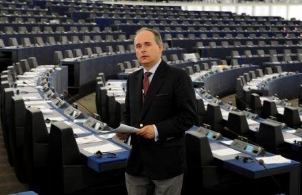 Павел Залевски, евродепутат от Польши, фото с официального сайта депутата