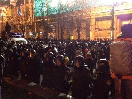 Євромайдан, Беркут / Фото: Радіо Свобода