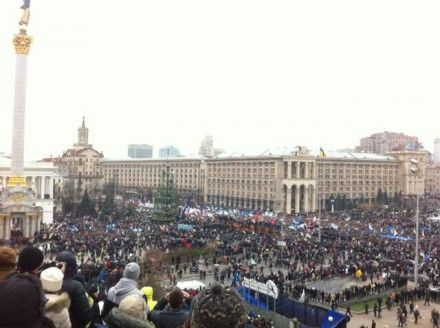 Майдан Незалежности, 1 декабря 2013 / Фото: пресс-служба УДАР