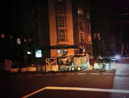 Баррикады на Майдане / Фото: Павла Шеремета