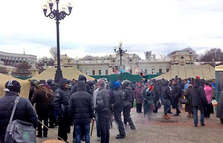 мітинг регіоналів / Фото : Дмитрий Чигрин, Фейсбук