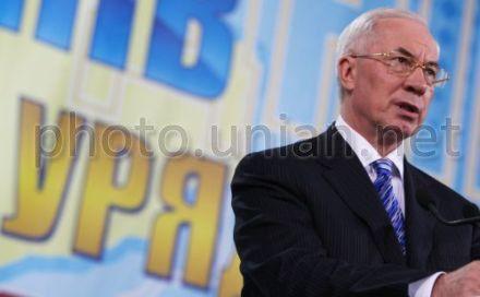 Азаров выступил на Европейской площади