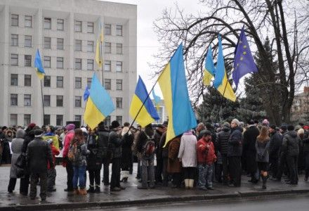Евромайдан Полтава