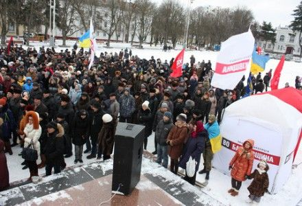 Евромайдан Хмельницкий / Фото: vsim.ua