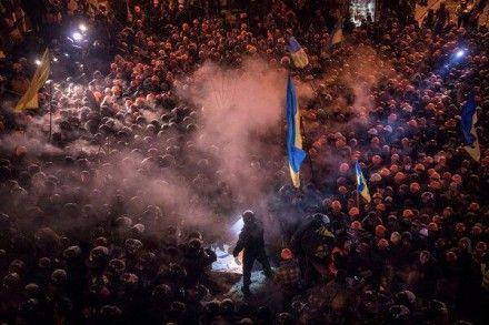 В столкновениях с силами МВД пострадали многие