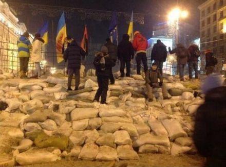 Баррикады на Майдане / Фото: Instagram
