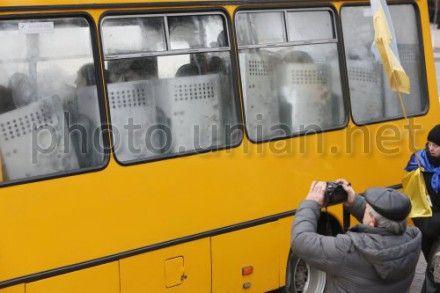 Милиция перекрыла улицу возле Кабмина