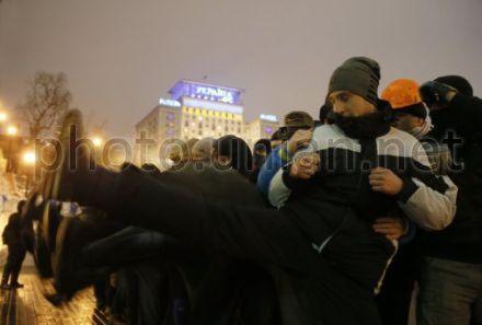 Тренування, самооборона Євромайдан