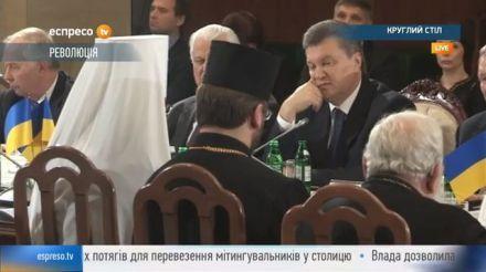 Янукович попросил украинцев успокоиться