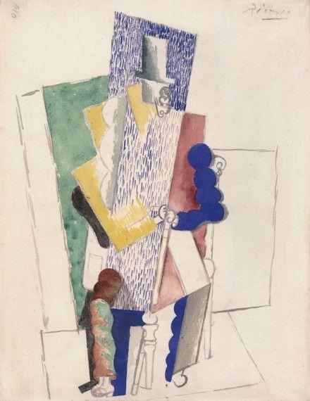 «Человек в цилиндре» (L`Homme au Gibus), Пабло Пикассо