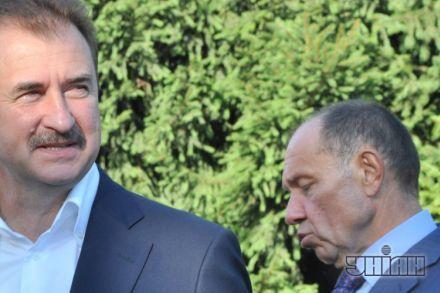 Попов и Голубченко общаются