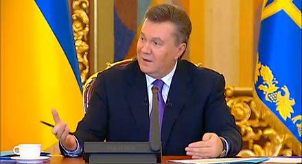 Янукович пообещал, что правительство отчитается
