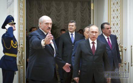 Высший евразийский совет, Янукович, Лукашенко, Путин