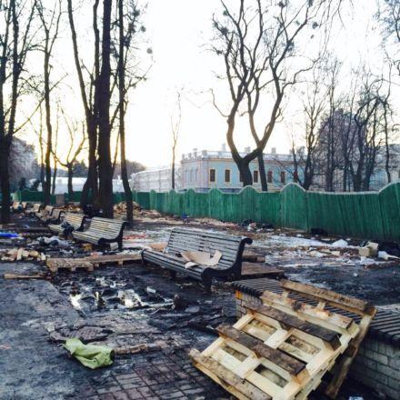 Так сейчас  выглядит Мариинский парк / Фото : Сергей Гайдай / Facebook