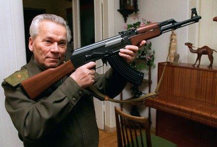 Калашников, фото siberiantimes.com